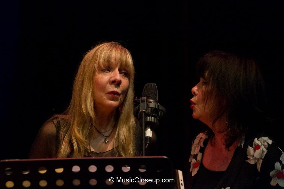 Charlie Dore and Margo Buchanan