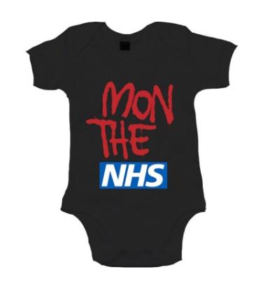Mon The NHS babygrow