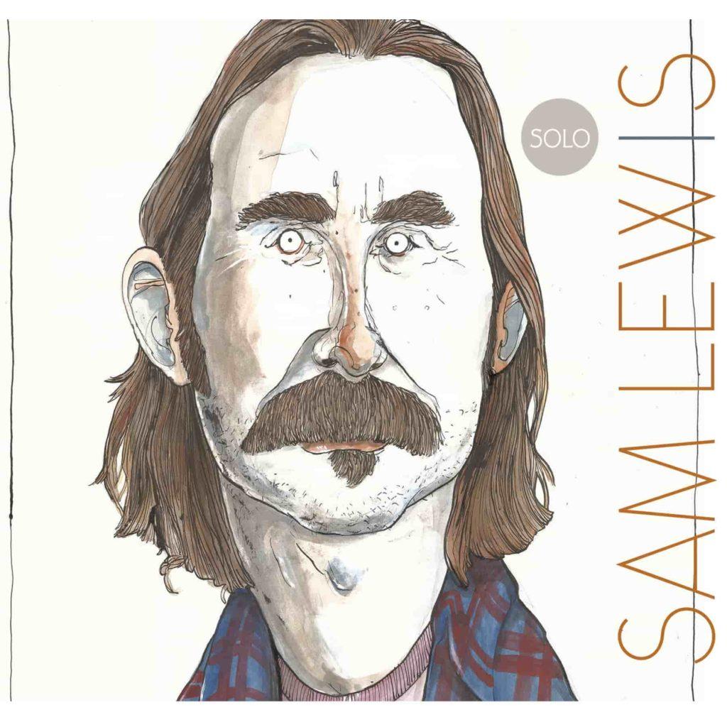 Sketch of Sam Lewis